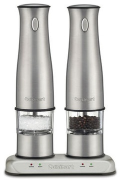 Cuisinart Rechargeable Salt & Pepper Mills - traditional - food containers and storage - Horchow