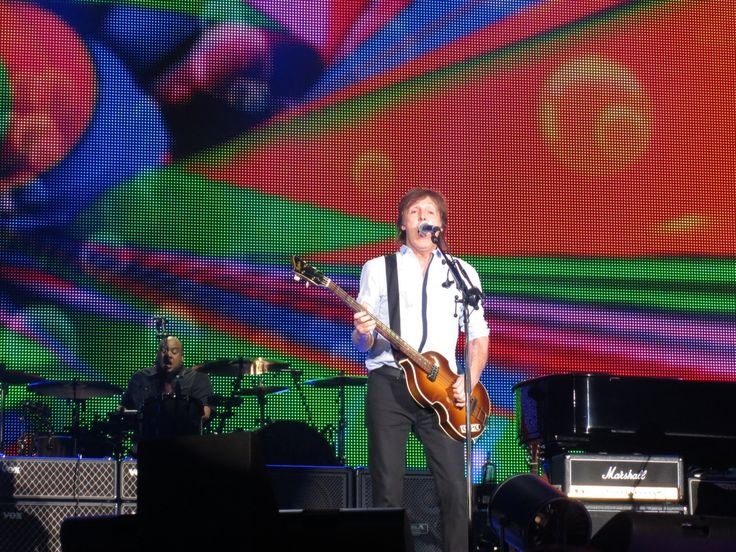 Paul McCartney in Seattle concert 7-19-13 photo via PaulMcCartney.com