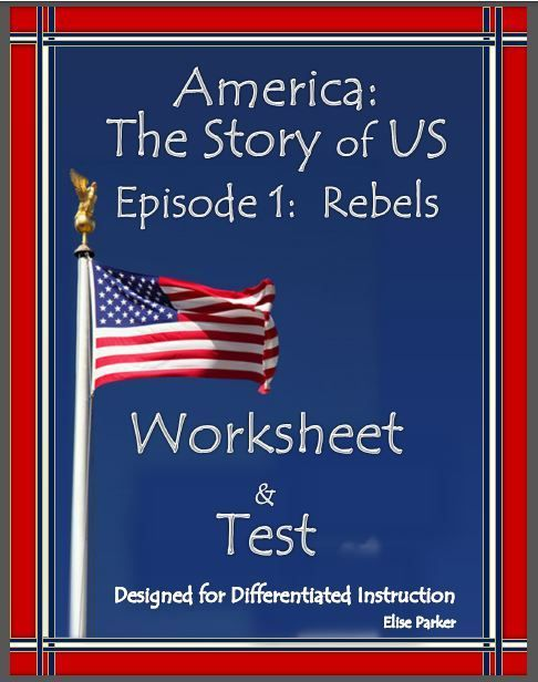 america the story of us episode 1 quiz and worksheet history channel american revolution and. Black Bedroom Furniture Sets. Home Design Ideas
