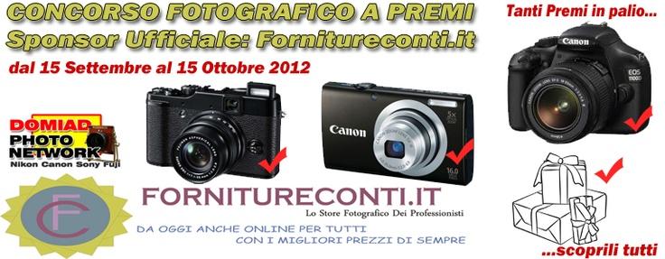 Nuovo Concorso a Premi sul Canon Club - Sponsor: Fornitureconti.it - Pagina 1 | 12-09-2012 15:11:46 | Canon Club Italia Forum