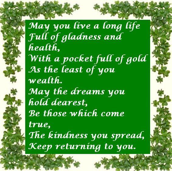 Irish Daughter Wedding Day Wish