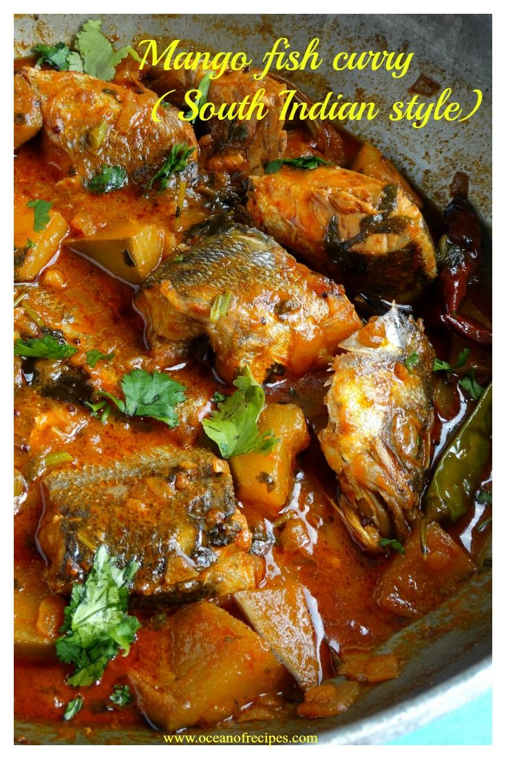 Mango fish curry (Chennai style)