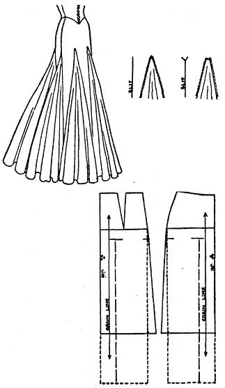 Flaired Skirt pattern
