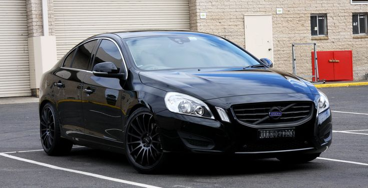 This S60 would look ominous in the rear view mirrors.