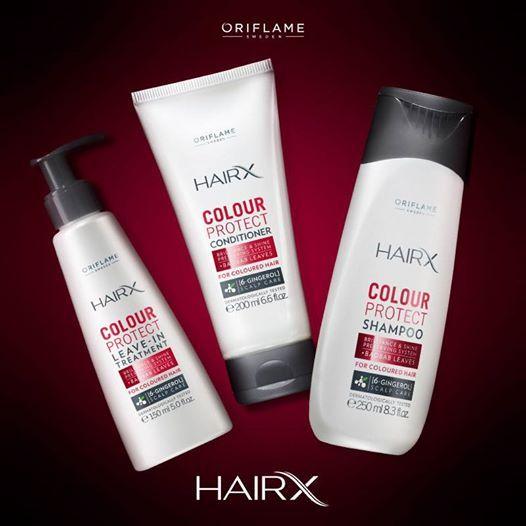 El cabello tinturado debe tratarse con productos especiales. La nueva línea Hair X protege el color en 200%, ¡prolongando su intensidad por hasta 7 semanas! #HairX #Cabello #Cuidados #OriflameMX