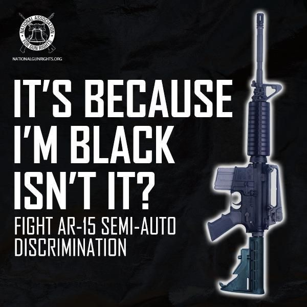fight racism of the AR-15
