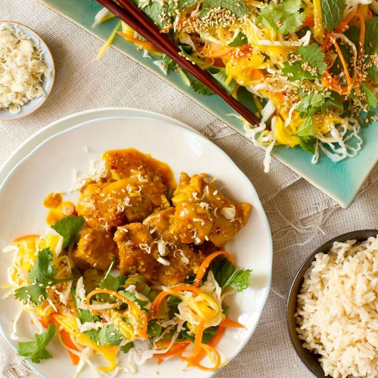 This is a super-tasty way to cook chicken. If you love lemongrass, like I do, this is a must-try dish. If you don't have fresh lemongrass, it's no problem to use frozen. Serve with steamed rice and lots of stir-fried … Continued