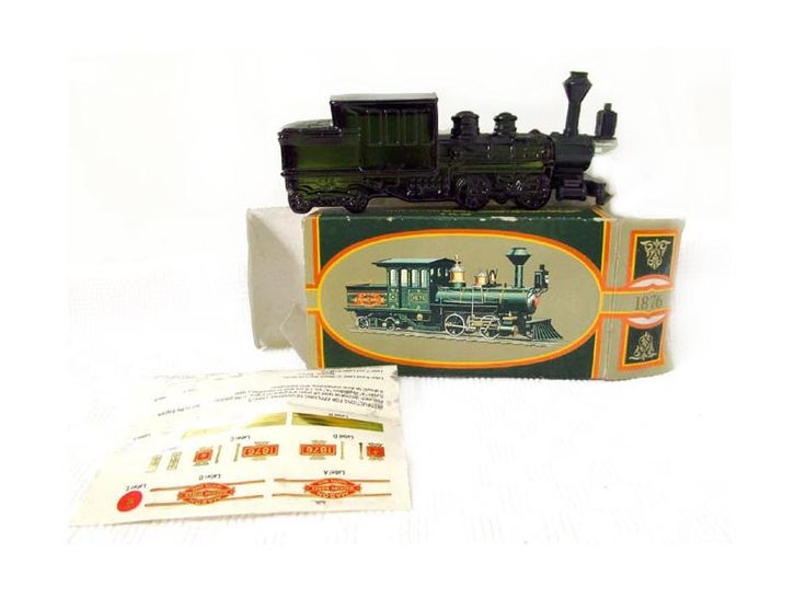 Avon 1876 Centennial Express Wild Country After Shave Train Engine MIB Avon Full Bottle Figural Old Train Collector Gift Locomotive Engine by CollectionSelection on Etsy