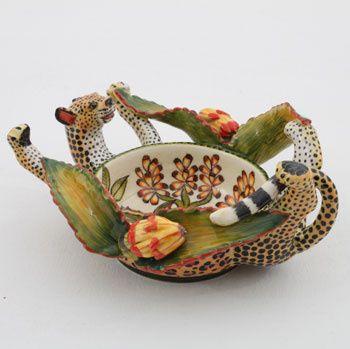 Ardmore Ceramics:  Leopard Ramekin