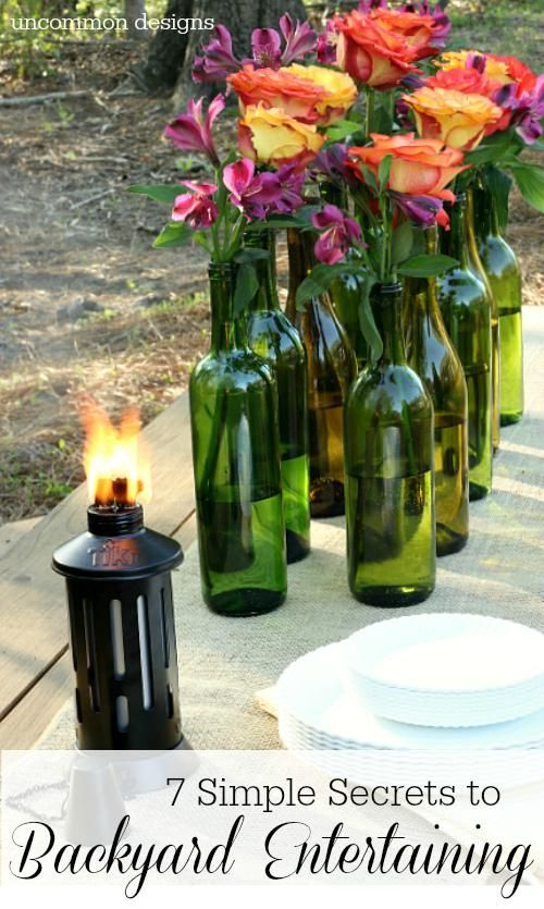 Throw a fabulous outdoor party with these 7 steps for backyard entertaining. We'll provide the backyard - http://www.gshom.org/about/rentals.html