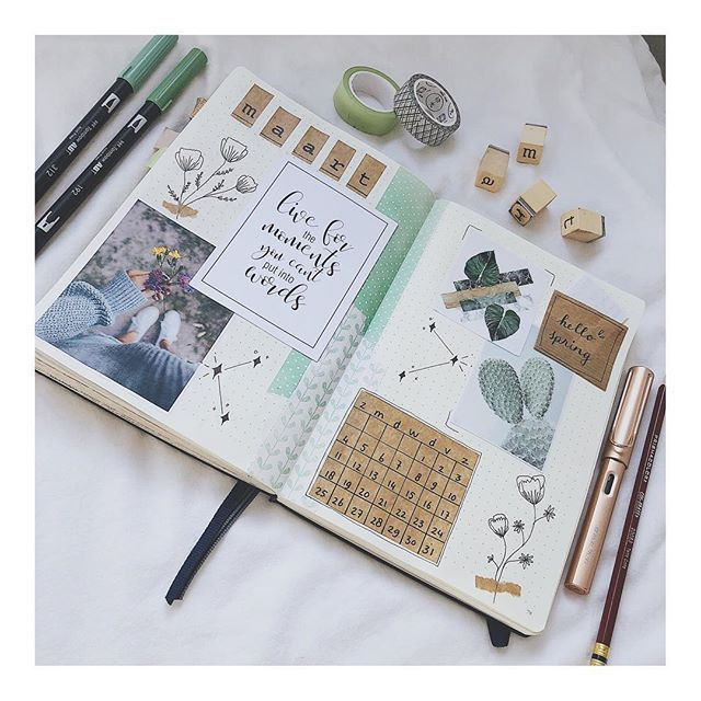 H E L L O M A R C H I cant wait for spring!! You? . . #bujo #bulletjournal #bulletjournaling #monthlyspread #bulletjournaljunkies #bujobeauties #bujobeauty #planneraddict #handwriting #scrapbooking #journal #journaling #bujobeauty #plannergirl #s