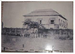 Old Cuartel de Sto. Domingo during pre-Spanish colonization