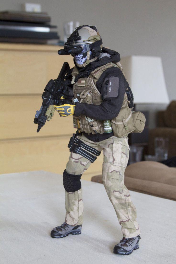 1 6 Hot Toys Soldier Story B w Custom Para Military Unit A | eBay