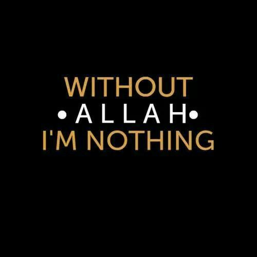 Allah is my motivation