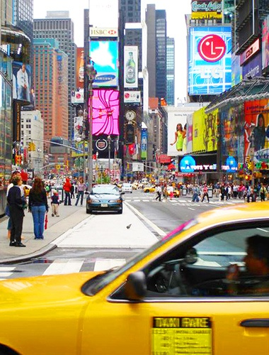 A weekend #goal for those brave enough to endure big crowds: Visit Times Square!