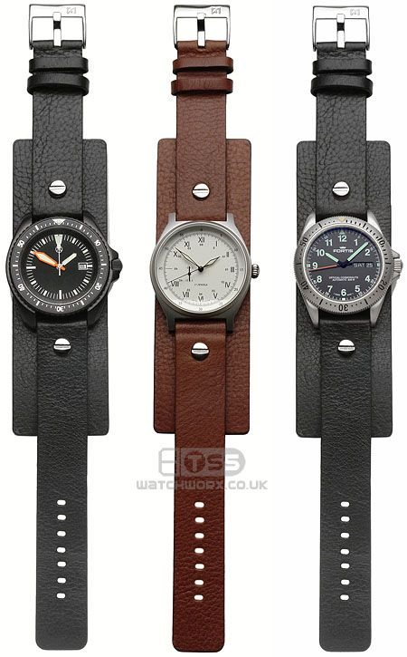 Open Ended Military style watchstrap in 18mm /