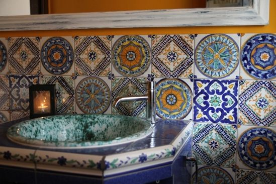 """Ceramic tile - Zeus -   Touch of Sicily -Typical """"Mattonaccio"""" tiles typically made by hand, with a depth greater than normal tiles. The shape and the surface are """"not perfect"""", their own diversity and uniqueness is the key feature."""