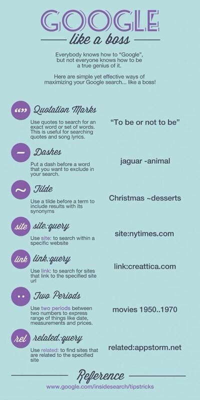 Google like a boss  - #Google, #Tips, #Tricks