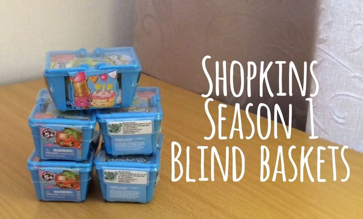 Shopkins Season 1 Blind Baskets!