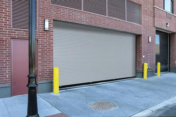 New Line Of High Cyle Rolling Springless Service Doors Overhead Door Doors Residential Garage Doors