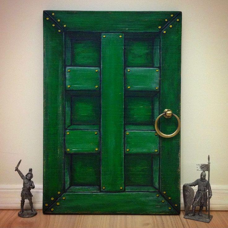 ...волшебная зеленая дверь, ведущая в прекрасное неведомое, нашла того, кому напомнит: до мечты - всего один шаг.  В данный момент, поблескивая бронзовой ручкой, едет в Красноярск.   Куда отправится следующая? Может быть, к тебе? #! #Ключница расписана вручную. 20х30 см, #handmade дерево, акрил на заказ.  #decor #maxfrei #зеленаядверь #дверь #interior #Wood #krasimdoski #мечта #фрай #идеи #wells #woodboard #прихожая #вход  #ключи #green #декор