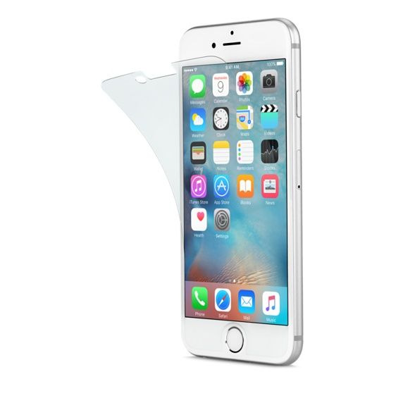 Glass-skjermbeskytter for Iphone6 :)Min ser så råtten ut hehe