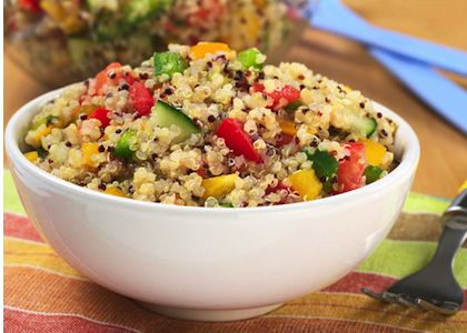 5-Step Simple Summer Quinoa Salad | Reboot With Joe