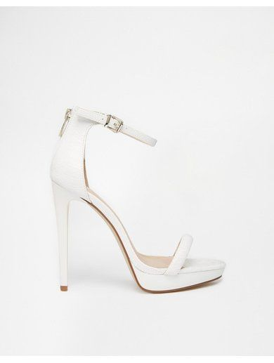 http://sellektor.com/all?q=river+islandRiver Island White Platform Barely There Heeled Sandals - White
