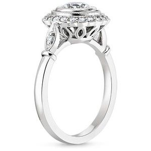 The Bella Diamond Ring #BrilliantEarth