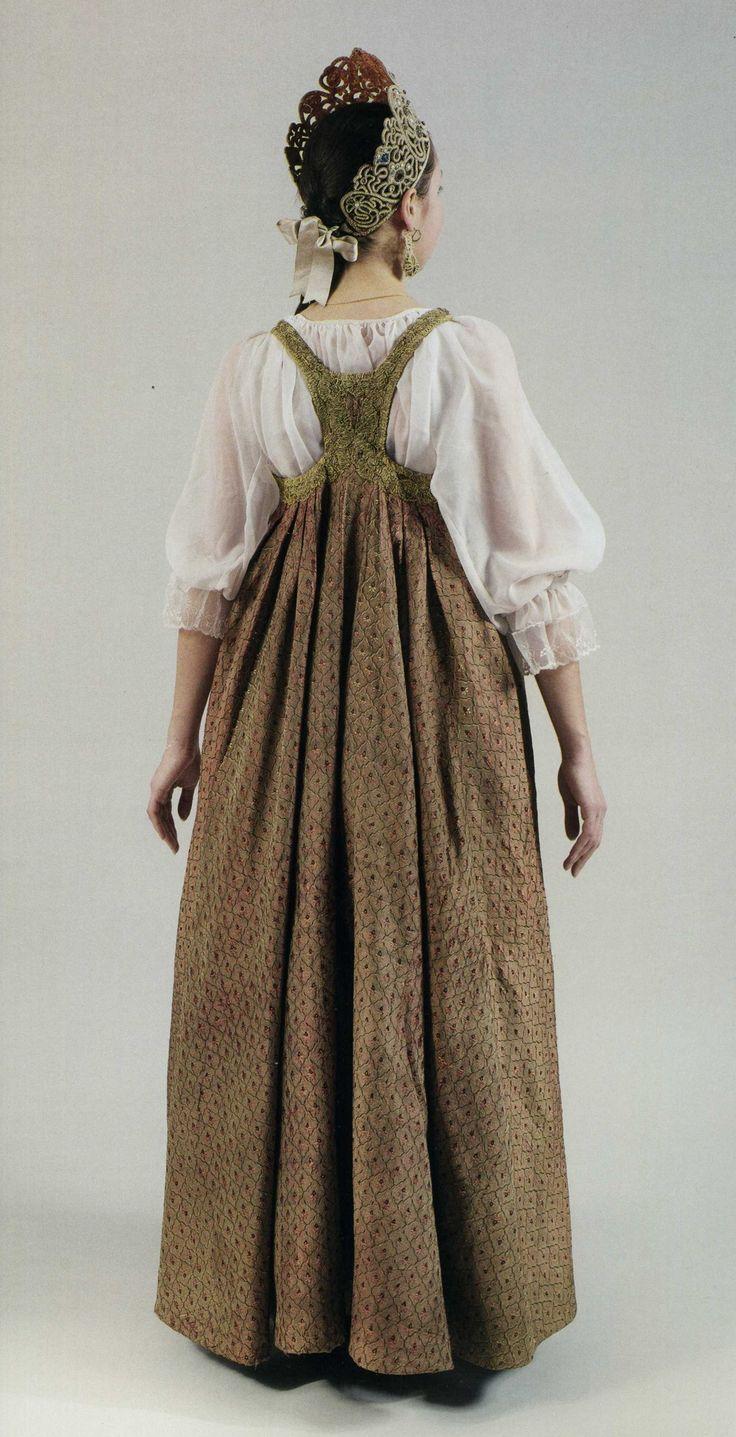 свадебный костюм девушки из Каргополья (Русский Север)