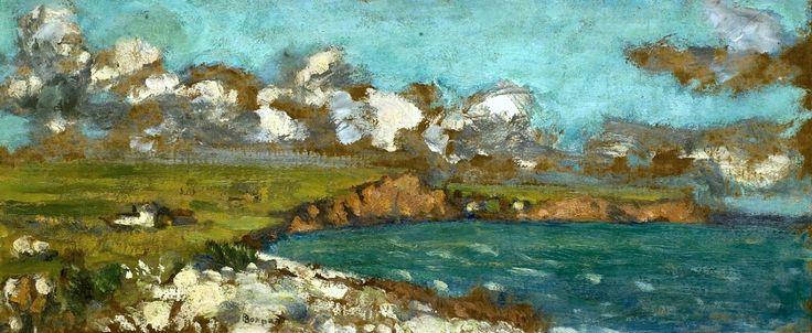 """PIERRE BONNARD (1867-1947) """"Falaises"""""""