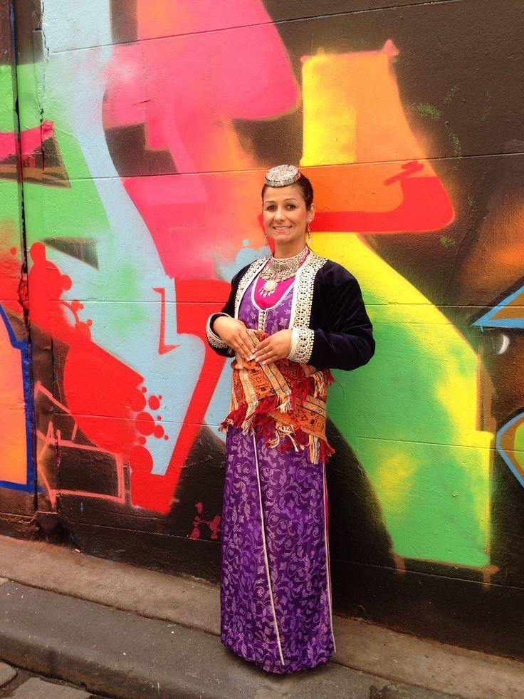 Full traditional Pontian Costume Ποντιακι στολι φορεσιά