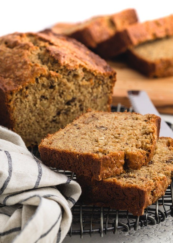 Brown Butter And Sour Cream Banana Bread Recipe In 2020 Sour Cream Banana Bread Banana Recipes Overripe Fruit Recipes