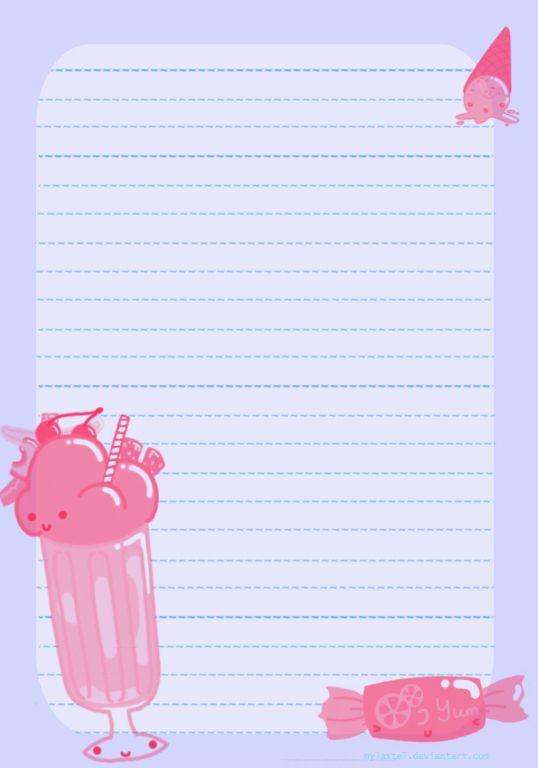 {free} printable Sweet Stationary