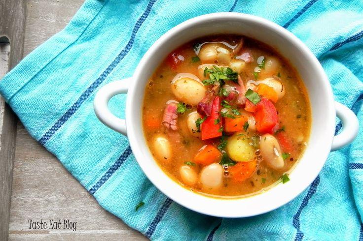 Taste Eat: Kremowa zupa fasolowa