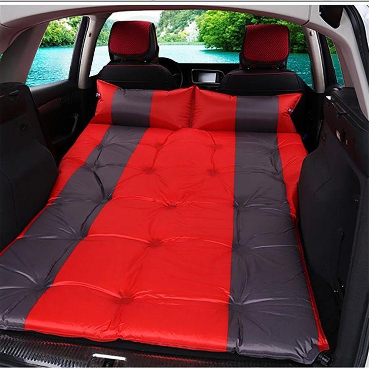 RUIRUI Auto outdoor-Reisen Bett Luftmatratze Matratze hinten SUV-Auto , red ash 5cm: Amazon.de: Sport & Freizeit