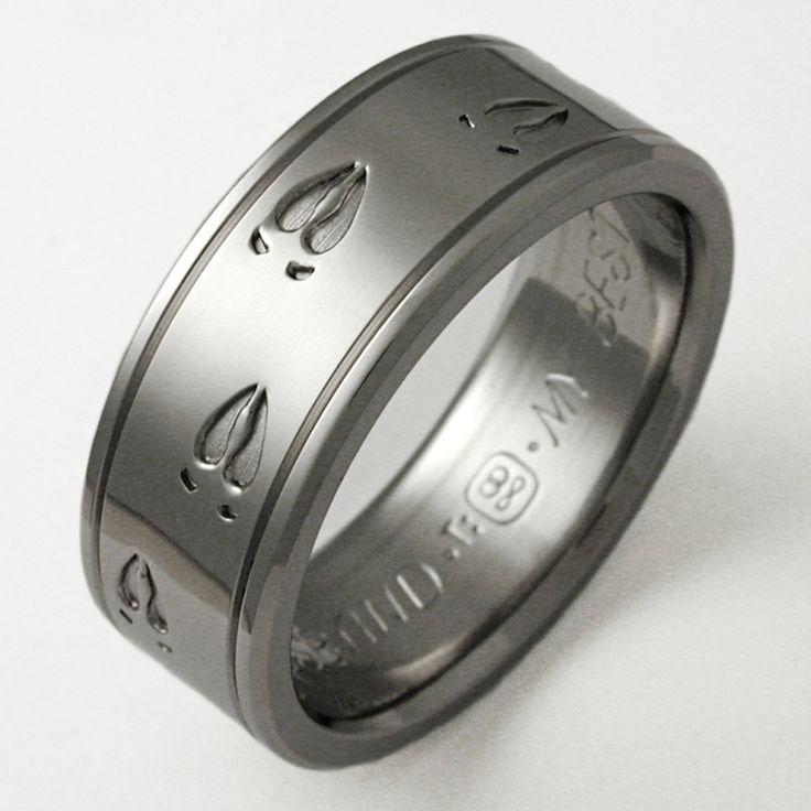 The Toughest Metal: Reasonable Titanium Wedding Rings for Men