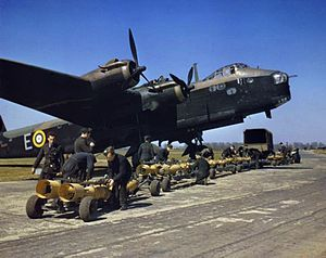 Short Stirling bomber. Called the first of the heavies. Sadly lacking in performance, due to restrictive specifications from the Air Ministry, & poor engines.