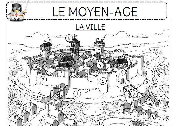 Le Moyen-Age - L'école de Crevette