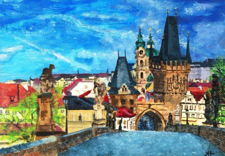 Karlův most. Praha