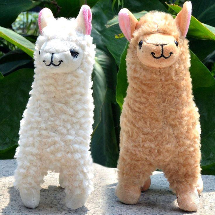 2 pcs Animais De Pelúcia Bonito Brinquedo De Pelúcia Alpaca Camelo Creme Llama Stuffed Animal Crianças Boneca 23 CM Altura FL em Stuffed & Plush Animais de Brinquedos Hobbies & no AliExpress.com | Alibaba Group