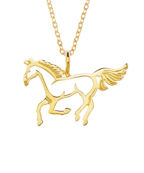 Horse necklace $64