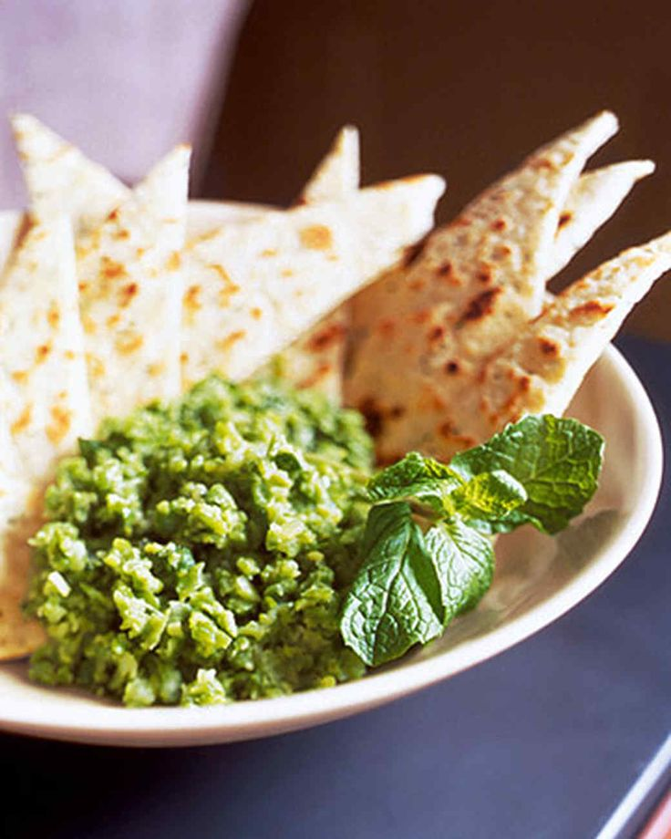 Serve this herbed flatbread with our Smashed Peas with Fresh Mint.