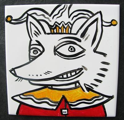 Foxy, rocking illustration by @Deborah Withey.