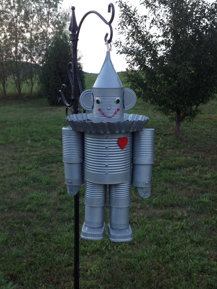 Pinterest the world s catalog of ideas for Tin man out of cans
