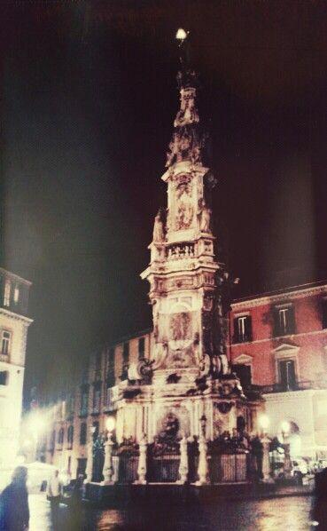 Piazza del Gesù,  Napoli.