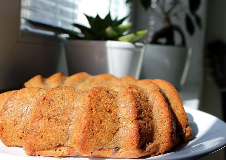 Skořicová bábovka s jablky (bez vajec) | Cooking with Šůša
