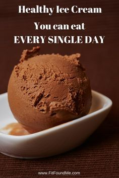 It's true, there's no catch! This delicious chocolate peanut butter ice cream is so healthy, you really can eat it every day!!