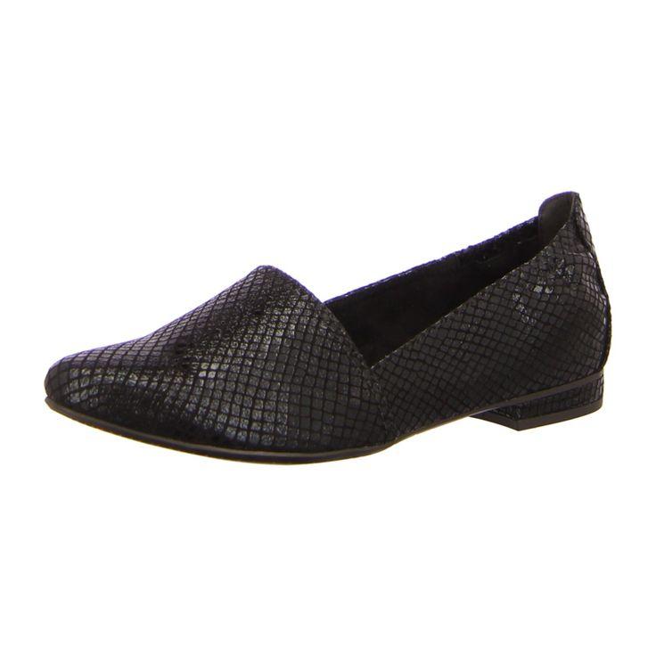 NEU: Tamaris Ballerinas Slipper Valon - 1-1-24202-26-006 - black struct. -
