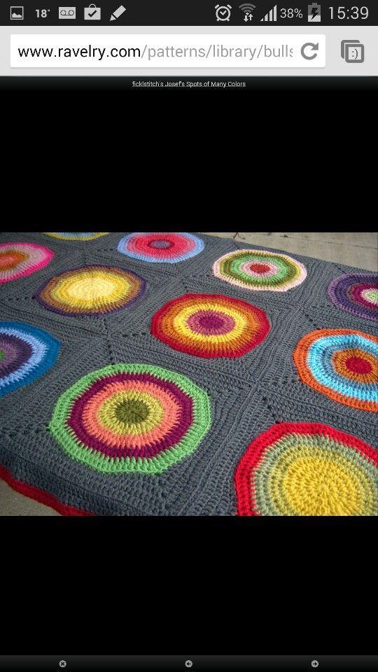 Bullseye blanket